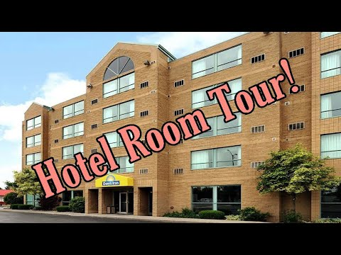 Days Inn By Wyndham Niagara Falls Hotel Room Tour