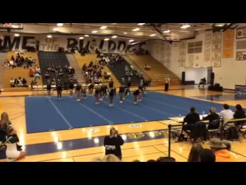 Colonial Forge High School Competition Cheer Team