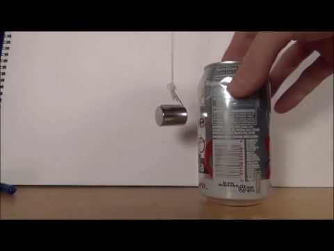 The Lenz Effect: Aluminum, Moving Magnets, Electricity, and Magnetism