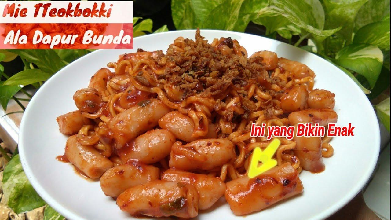 Ternyata Bikin Makanan Korea Yang Lagi Hits Tteokbokki