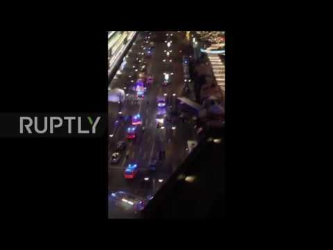 Germany: Mobile phone captures aftermath of Berlin Christmas market incident