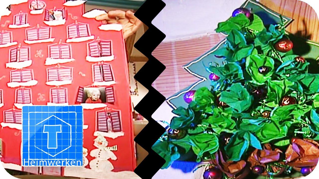 2 adventskalender zum basteln diy tooltown youtube. Black Bedroom Furniture Sets. Home Design Ideas