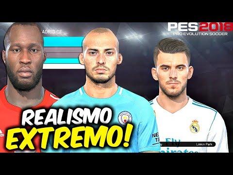 PES 2018 | NEW FACES/CARAS - L Suarez, J Rodriguez, Silva y ¿¿NEYMAR SIN TATUAJES??