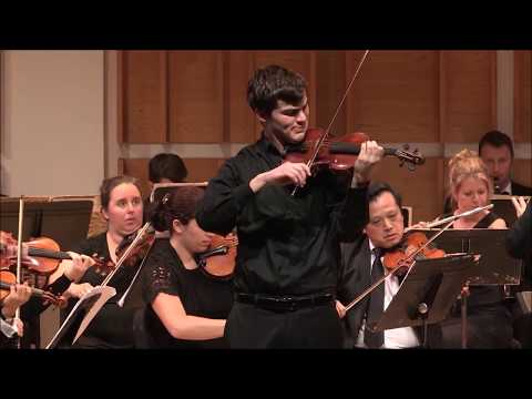 Chausson Poème by Nathan Meltzer and the Adelphi Orchestra