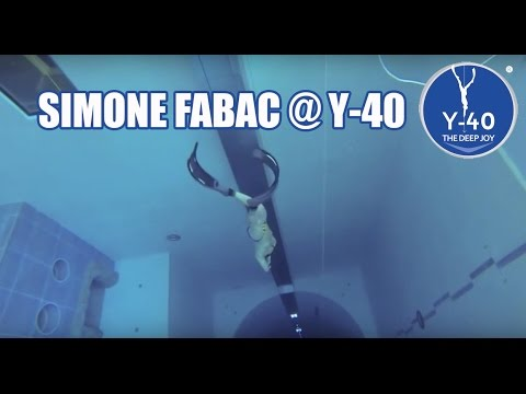Freediving y 40 the deep joy simone fabac apnea youtube for Piscine deep joy y 40