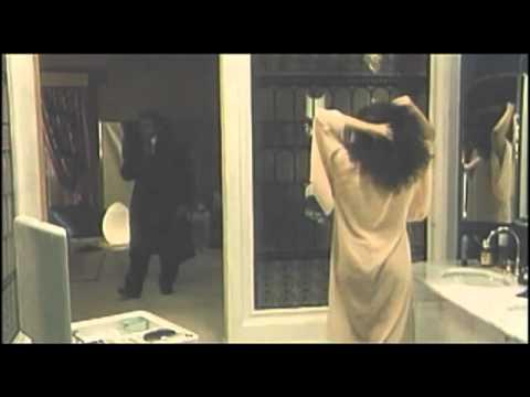 The beautiful actors Francesca Dellera and Alain Delon