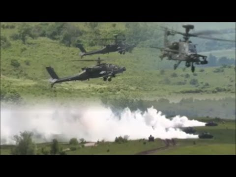 Russia Watch Military Drill Conducted by NATO And US in Romania.
