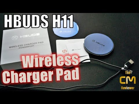 Hbuds H11 - Test - Kabellloses Schnellladepad -Wireless Charger Pad - Hands-on (Deutsch)