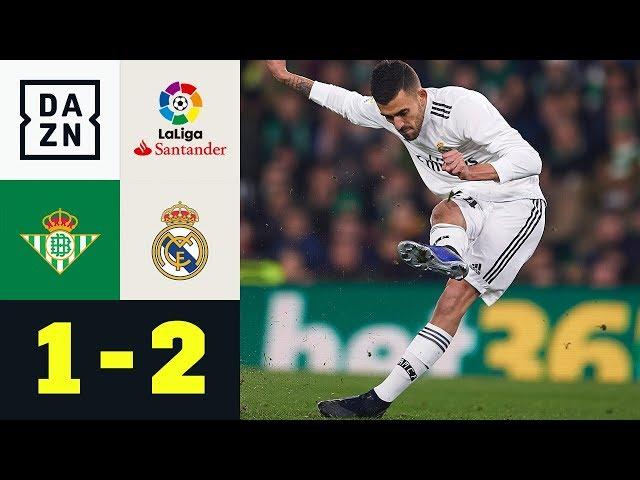 Dani Ceballos schockt seinen Jugendklub: Real Betis - Real Madrid 1:2 | La Liga | DAZN Highlights