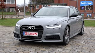 2016 Audi A6 3.0 TDI Competition (346hp) - DRIVE & SOUND (60FPS)(The full DRIVE & SOUND test with the recently facelifted 2015/2016 Audi A6 Avant as the range-topping 3.0 TDI