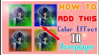 Download How To Add Border Color Effect In Avee Player In Telugu