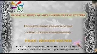 Carnatic Veena Online Skype Lessons Beginners Learn How To Play Veena Raag Music Raga Mohan Kalyan