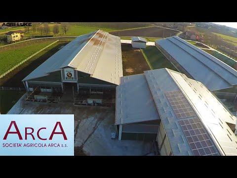 "Virtual-Tour Stalla Soc.Agricola ""ArcA"" | Stable Arca | DeLaval System"