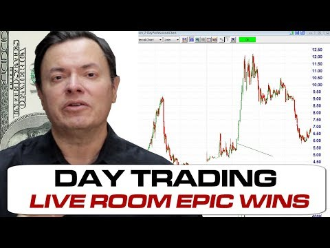 PXS OSTK Wins LIVE TradingTheOpen.com Day Trading Stocks Room 04Dec2017