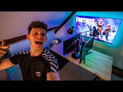 THE GAMING ROOM LOOKS INSANE