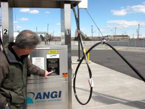 Refueling my 2011 CNG Ford Fusion - Powered by Natural Gas