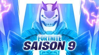 FORTNITE SAISON 9: COMBAT SKIN PASSE, THEME - NEW MAP! (teaser)