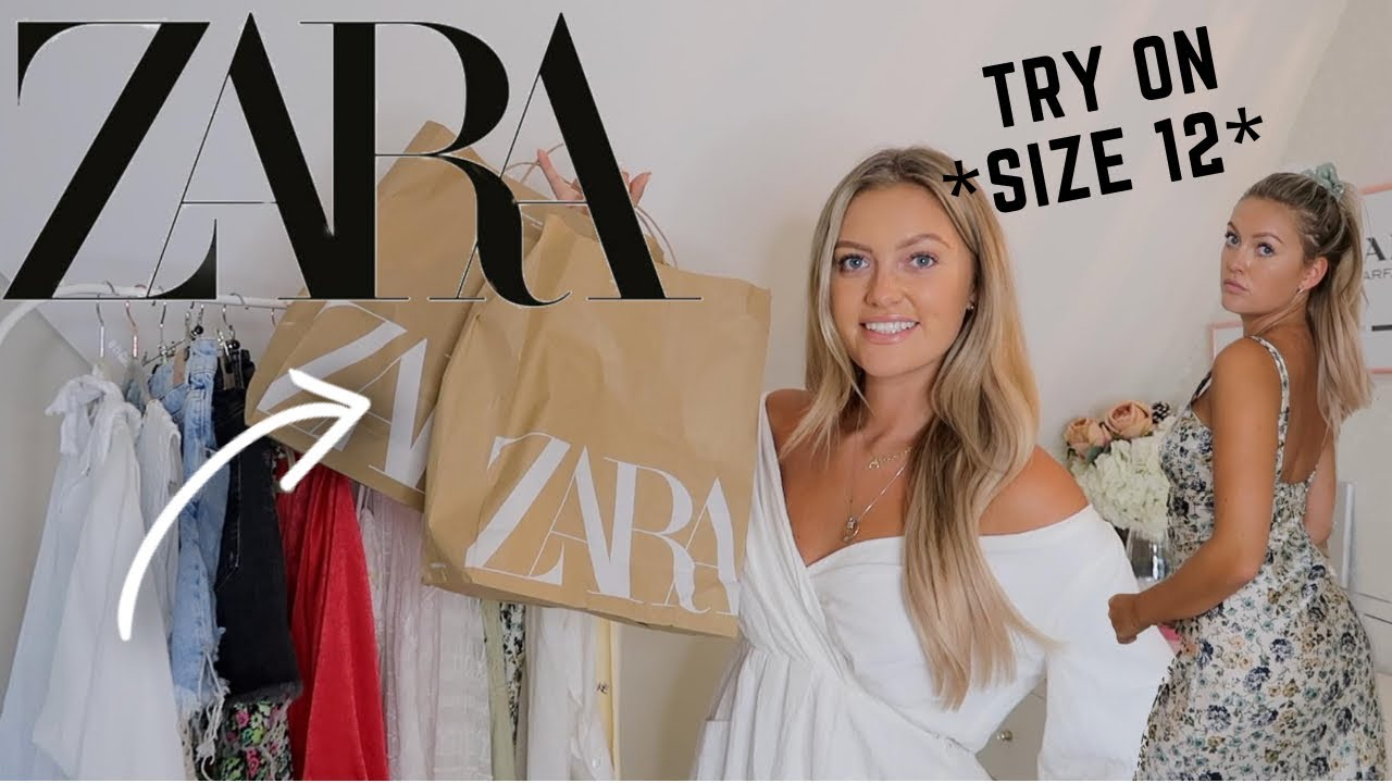 HUGE ZARA *new in* TRY ON HAUL!!!! | SUMMER OUTFITS| SIZE 12!!!!