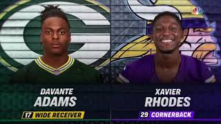 Davante Adams vs Xavier Rhodes (2018 wk 12) | WR vs CB Highlights
