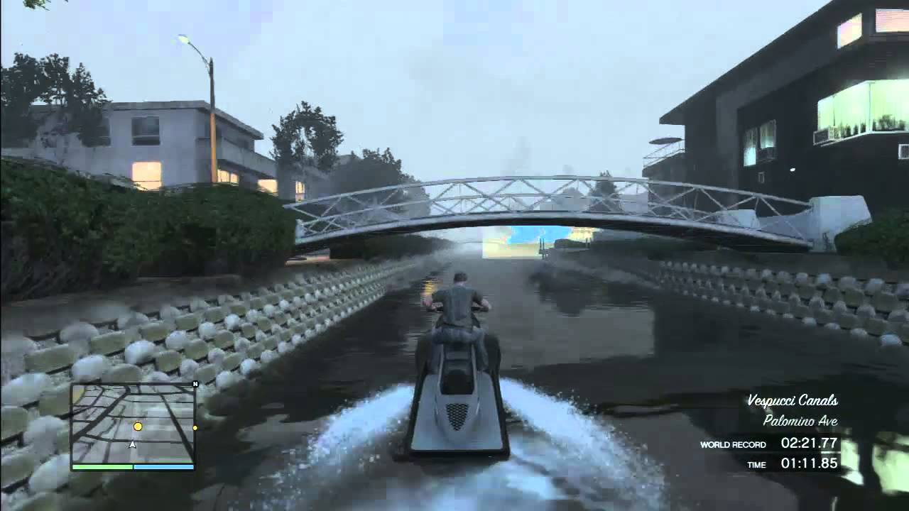 HD: GTA 5 Online [Part 5] Canal Passage (PS3) GTA V Online