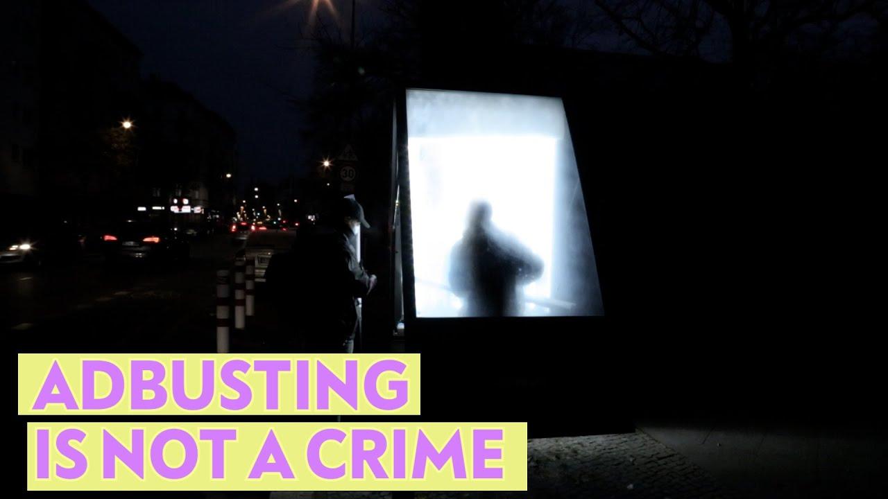 Download Trotz harter Repressionen: Adbuster*innen plakatieren (gegen Polizei und Bundeswehr)