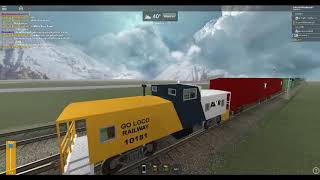 ROBLOX Crazy Train going to that dead curve