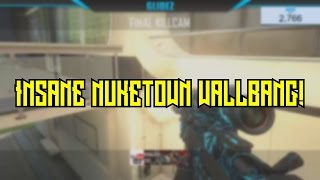 Insane Nuketown Wallbang (2 Clips)