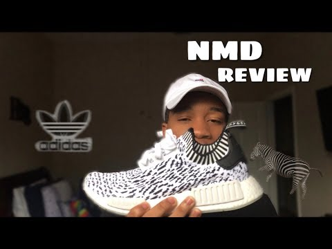9a2039e24c379 Adidas NMD Zebras    NMD Review   On Foot - YouTube
