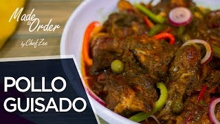 How to Make Pollo Guisado Dominicano | Dominican Stew Chicken | Made To Order | Chef Zee Cooks