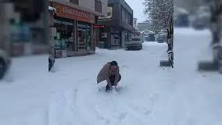 Lapa lapa kar yağıyor gönlüme 🖤