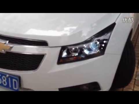 Winpower 2012 2013 Chevrolet Cruze Led Headlights Youtube