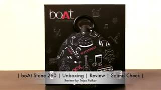 Bass??? | boAt Stone 260 | Unboxing | Sound Test | Review |