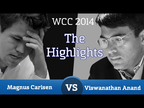 The Highlights of the Carlsen - Anand World Chess Championship 2014