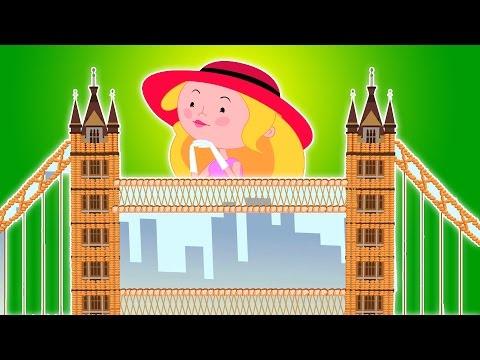 il ponte di Londra sta crollando| Compilazione per i capretti | Popolare Canzone | London Bridge