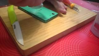 Замена задней крышки Sony Xperia Z3 Compact Ч.1(Замена задней крышки на телефоне Xperia Z3 Compact., 2015-05-21T18:56:58.000Z)