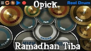 Download lagu Opick Ramadhan tiba RealDrum Cover MP3