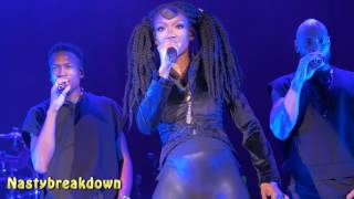 Brandy - What About Us & Full Moon (Fillmore Silver Spring 11-20-16)