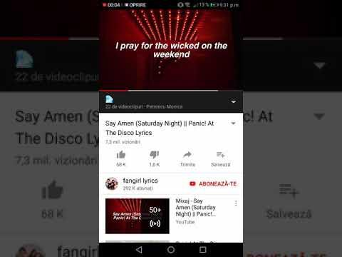 Say Amen (Saturday Night) - Panic! At The Disco(Ringtone)