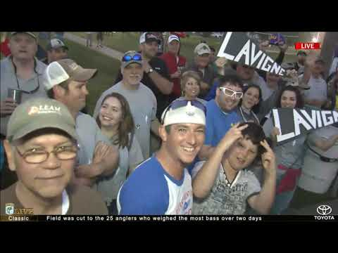 Bassmaster Live: 2017 Classic- Day 3, Part 1