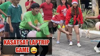 Christmas Party Game sa Bahay ng Kasatsat Sobrang saya at Laptrip