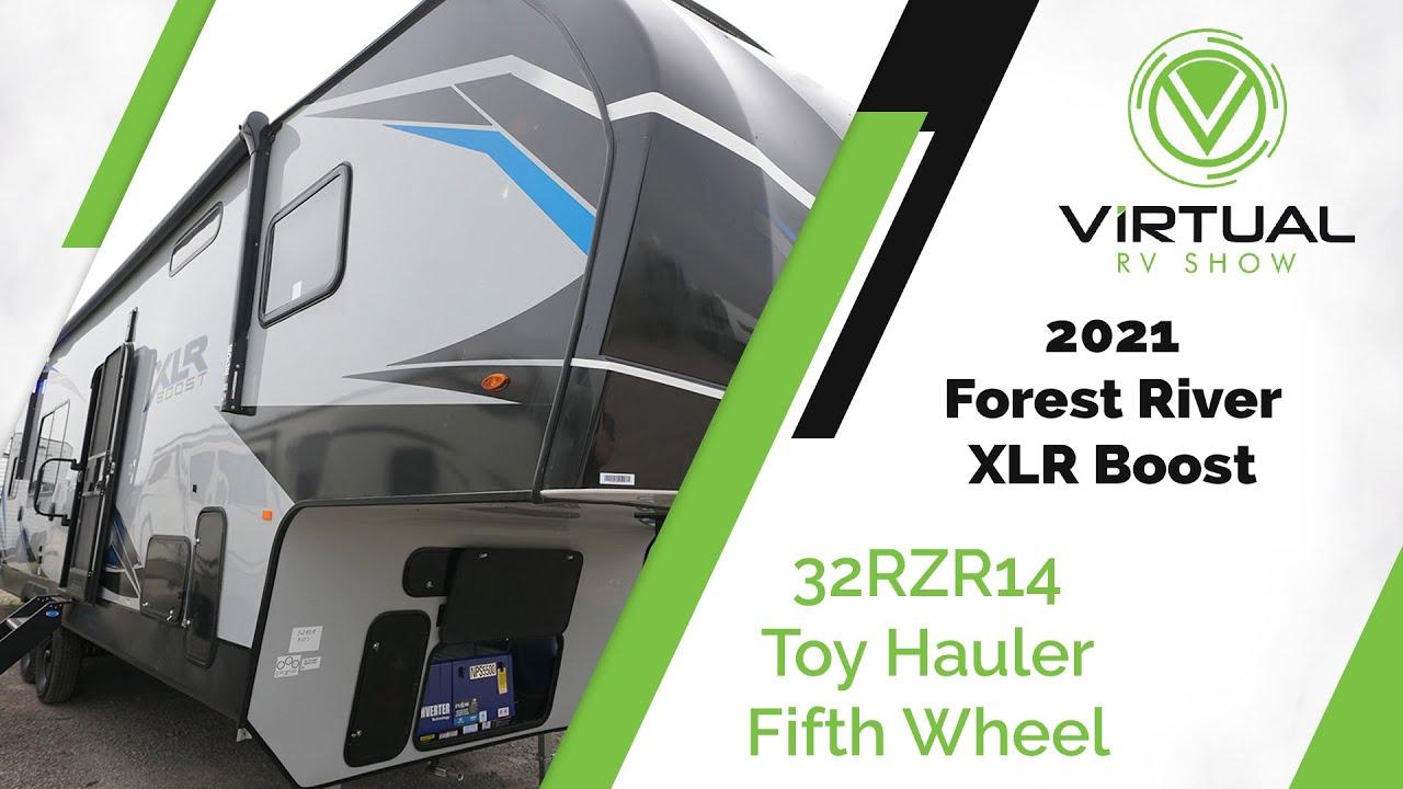 2021 XLR Boost 32RZR14 Toy Hauler Fifth Wheel Walk-Through