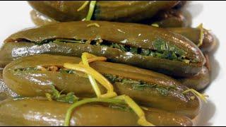 stuffed cucumber pickles طرشي خيار محشي ومدبس المطبخ العراقي