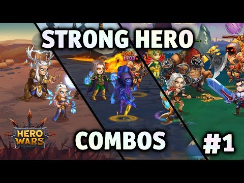 Strong Hero Combos #1 | Hero Wars - YouTube