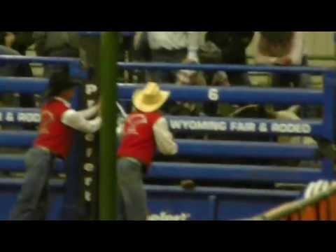 Casper College Rodeo 2013 - Taylor Miller - Bull Riding
