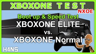 xbox one hdd boot up speed test xboxone elite vs normal