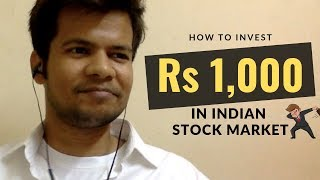 How to invest Rs 1,000 in Indian Share market? | Trade Brains