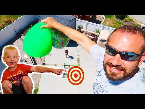 Dropping SLIME From 30 FEET HIGH!