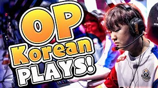 The OP Plays From KOREA! - Overwatch Montage