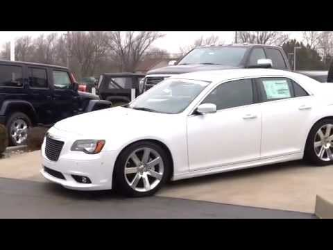 2012 White Chrysler 300 SRT8  YouTube
