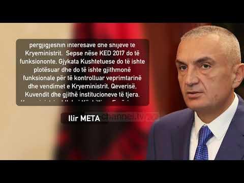 """Meta për Ramën: """"Fajtor që s'kemi Gjykatë Kushtetuese -Top Channel"""